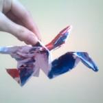 Журавлики оригами от мамы Еленки