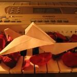 Бумажный журавлик от Юлии