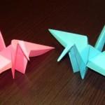 Японские журавлики от Людмилы
