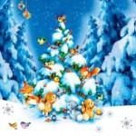 Лесенка: Новогодние книги для детей