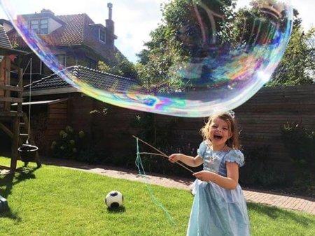 Мыльные пузыри в домашних условиях