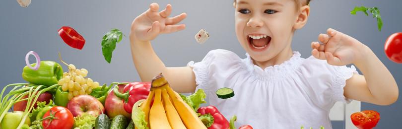Особенности питания гиперактивного ребенка