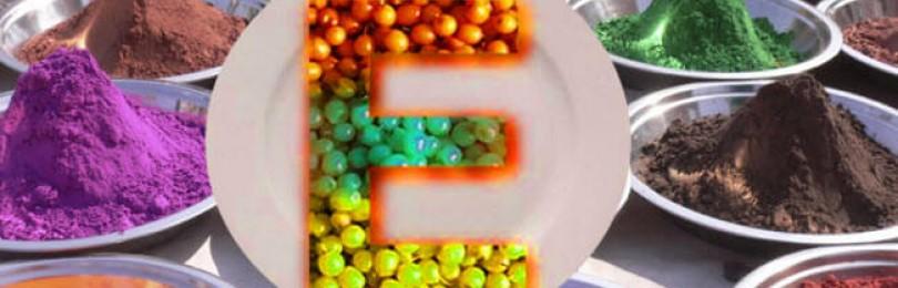 Пищевые добавки и красители. Загустители