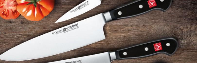 Профессиональная кухонная посуда и инвентарь. Ножи кухонные