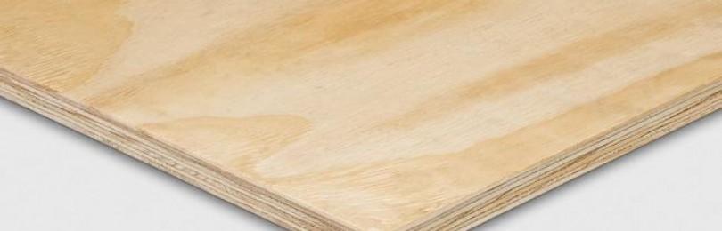 Фанера листовая: сфера применения