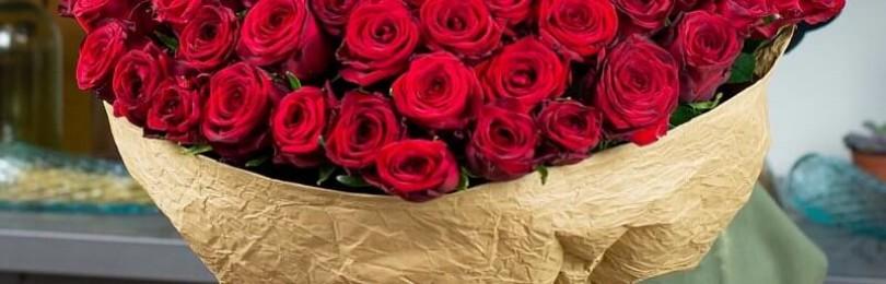 О доставке цветов 101 роза в Москве