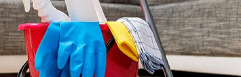 Как производить уборку в доме правильно