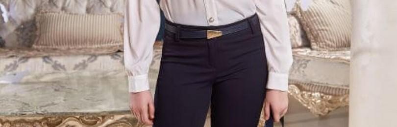 Школьные брюки для девочек: тепло, удобство и практичность в одной модели