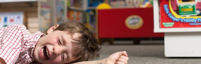 Советы, как остановить детскую истерику