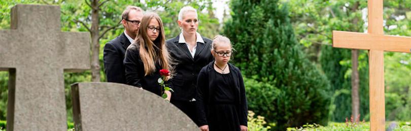Почему ребенку не место на похоронах