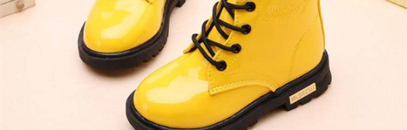 Качественная зимняя обувь для детей — особенности выбора