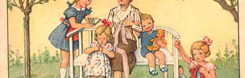 Игра «Лесенка»: Мамины рукоделки