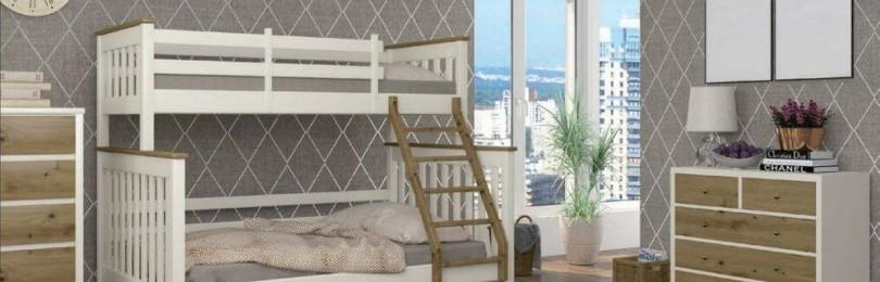 Двухъярусная кровать «Скандинавия»