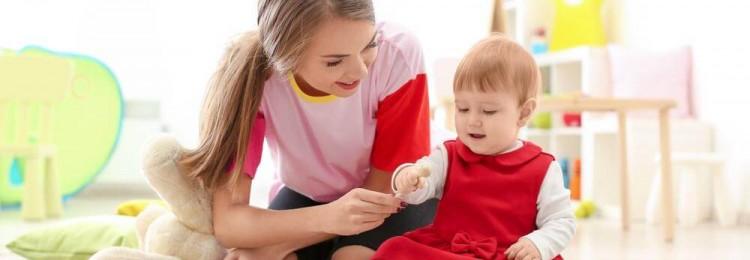 Присмотреть за ребенком до 5 лет поможет опытная няня