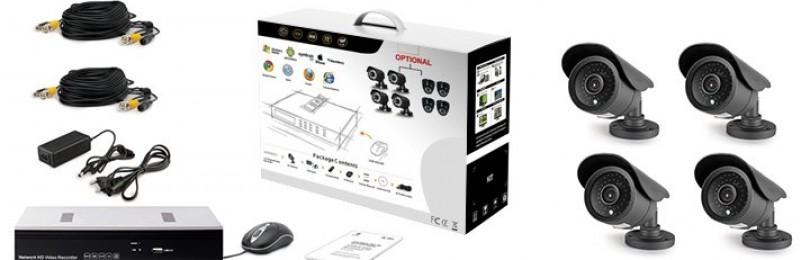 Как выбрать комплект оборудования по видеонаблюдению?
