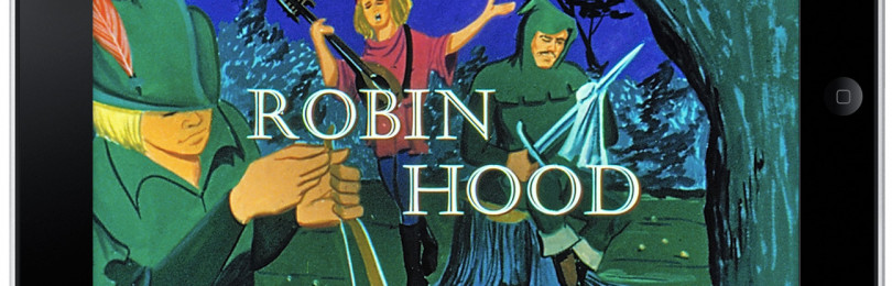 В свет вышла интерактивная книга о Робине Гуде для iPad