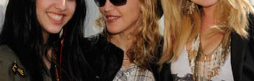 Дочь Мадонны – дизайнер косметики для девочек Material Girl