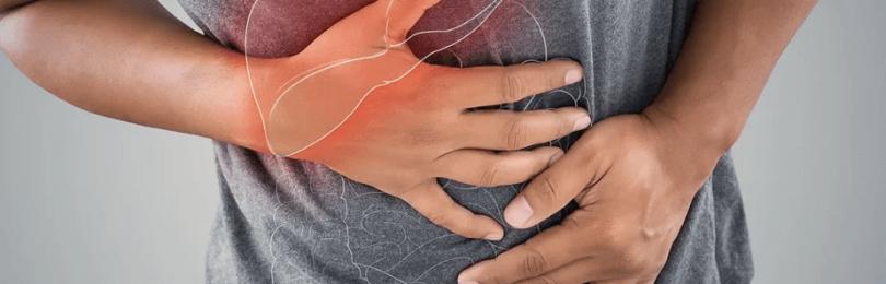 Изменения со стороны желудочно-кишечного тракта у больного гепатитом С