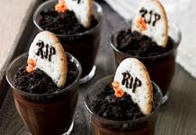 Скорбное печенье с кремом из горького шоколада