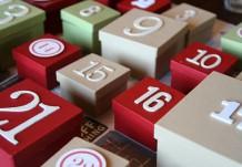 Календарь ожидания: коробочки