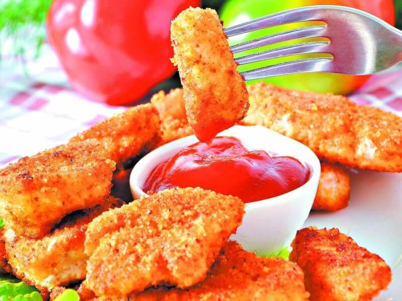 Какие вредные продукты часто едят дети