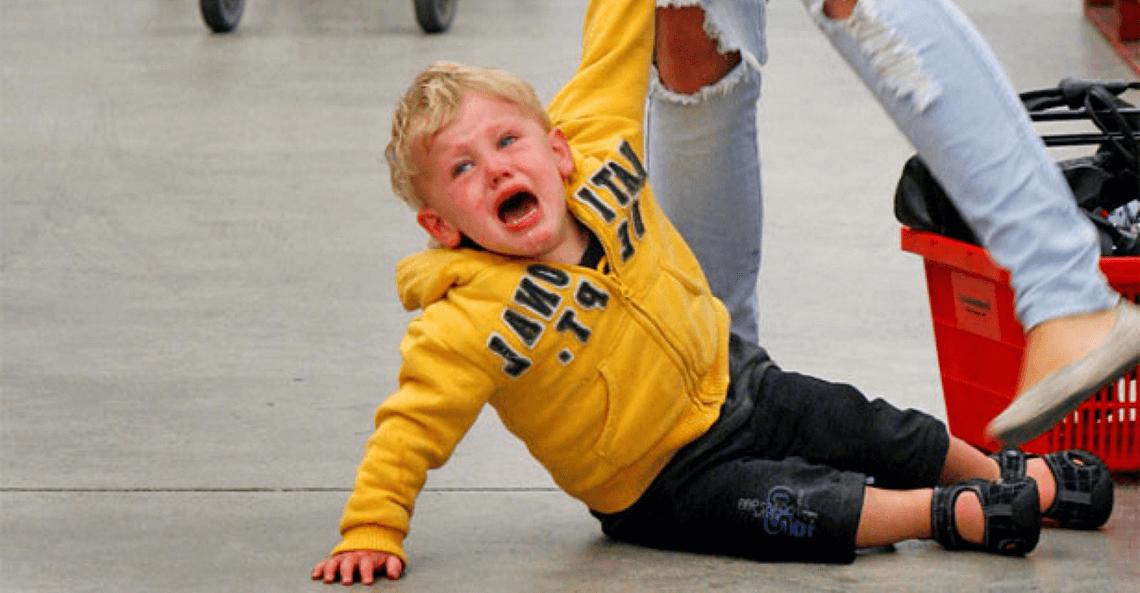 Простой, но эффективный способ остановить детскую истерику
