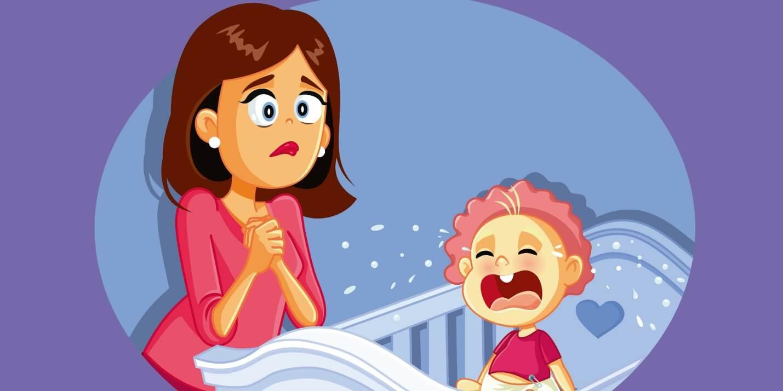 Когда ребенок будет спать всю ночь