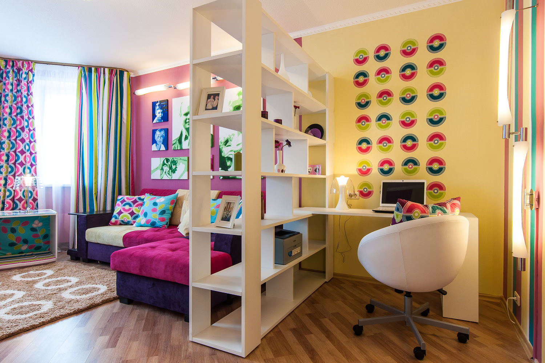 Как оформить детскую комнату в небольшой квартире