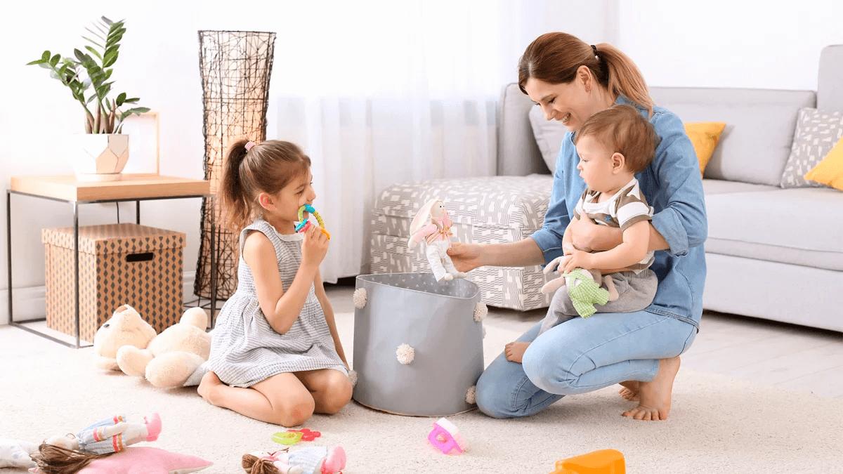 Как научить ребенка убираться без капризов