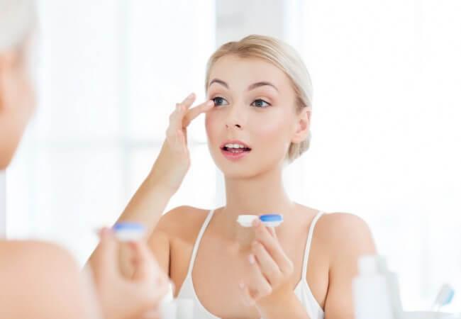 Правильно ли Вы носите контактные линзы?